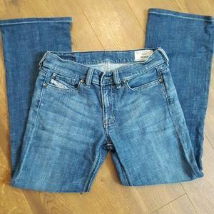 Diesel Riden Wash 0087p Jeans 27x30 Italy